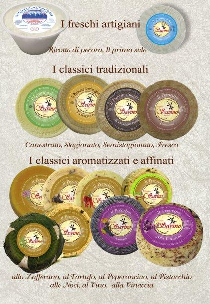 formaggi caseificio savino